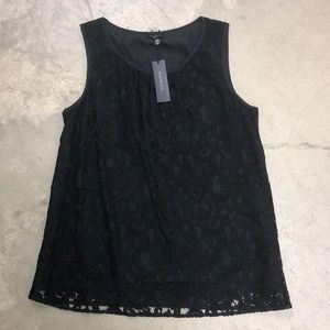 NWT Talbots Lace Tank Top